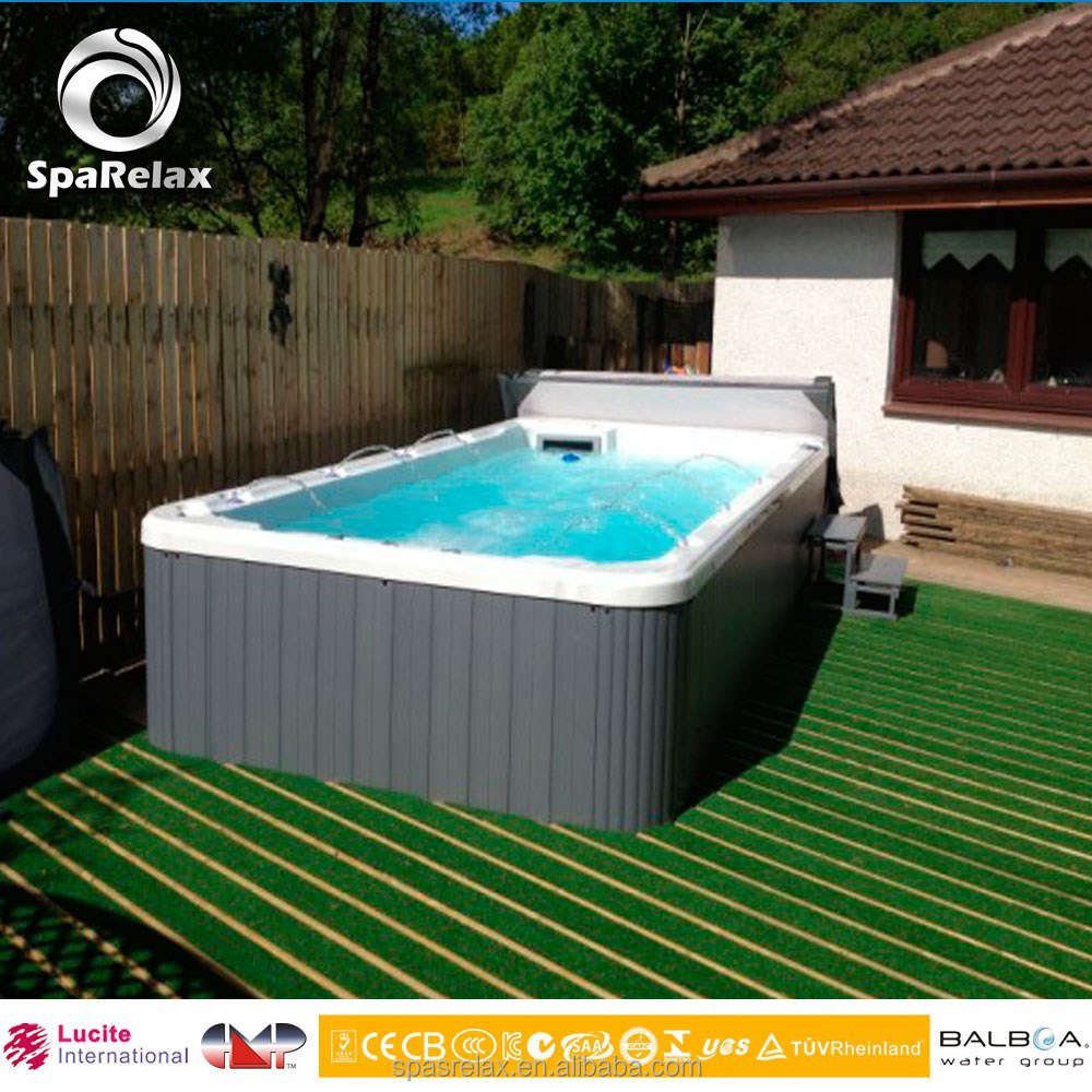 Best Hot Plastic Swimming Pool Hot Tub Combo With Tv Powerful Air Jets For Adult Buy Swimming