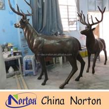 garden decoration resin material deer animal statue NTRS081S