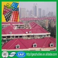 building materials sound insulation waterproof pvc solar panel roof tiles plastic roof sheets