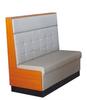 Dubai market modern single restaurant sofa(FOH-CBCK28)