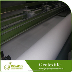 Nonwoven needle punching filtering high strength PET geotextile