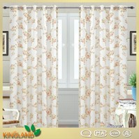 Wholesale High quality ready made Fashion Style Print Window Curtain