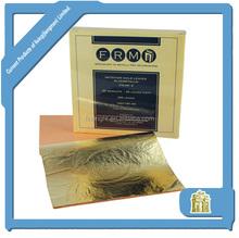 Italiano imitation gold leaf hoja fabricante