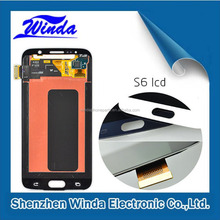 For samsung s6 lcd screen/lcd for samsung s6 with factory price