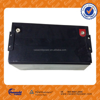 CE,SGS,TUV, ISO certificates 12V 260Ah deep cycle AGM GEL Battery on hot sale