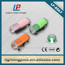 hot sell 9LED Aluminium promotion product with glow in dark