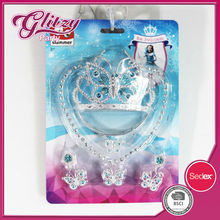 2015-FS-1000 Frozen Ice Princess Elsa Costume high quality & good sales sets pretty butterfly accessories for girls