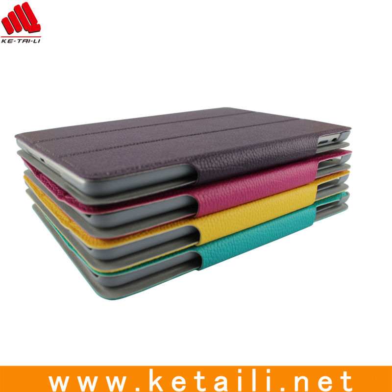Para el mini ipad smart cover, Hecho de alta calidad de la PU