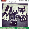 Soft 3D Cute Cartoon Animal Design Love Dog Zebra Owl Silicone Phone Cases Cover For iPhone 6 6plus