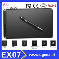 graphic drawing tablet digitizer for pc with 2048Lever/5080LPI