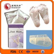 2015 Hot Sale OEM Soften Foot Mask Exfoliating