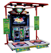 Amusement playground machine touch screen music and dancing games