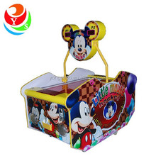 best sale mickey mini coin operated air hockey table