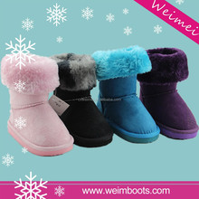 2015 best sell high quality of colorful snow boots