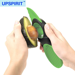Hot Sale 3 in 1 Avocado Slicer, Plastic Avocado Cutting