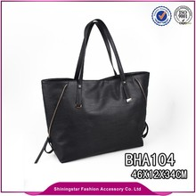 Wholesale popular women promotional carrying bag lady zipper bag
