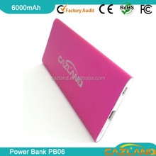 2015 new electric heating warmer with external power bankemergency charger, mobile power of 6000mah