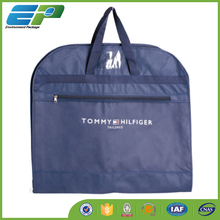 Foldable PE garment bag for shopping and promotion