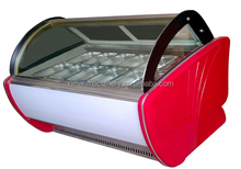 6-24pans ice cream/gelato showcase cabinet at factory for sale TK-24
