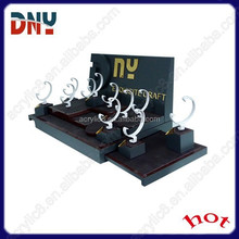 3D Embossing Logo Counter top Watch Display Sets