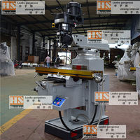 Brand new Spindle automatic feed milling machine made in China 4H turret milling machine for wholesales