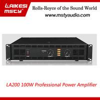 LA200 Professional dj amplifier price 150w ahuja amplifier professional power amplifier