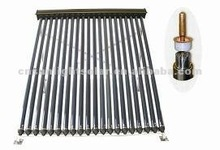 all glass evacuated tube solar collector with heat pipe for hotel