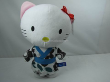 Plush cat toy/ kitty /plush doll/animal toys