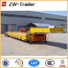 alta capacidade de carga por eixo 3 50 13m ton caminhão carreta reboque da plataforma do trator reboque semi reboque