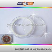Plastic Case / Box for Quality Challenge Coins , Round transparent case