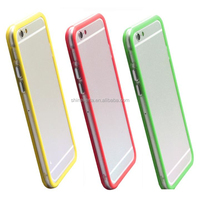 Simple style plastic case for phone rim