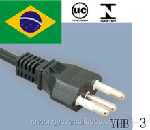UC power cord with male female plug made in China