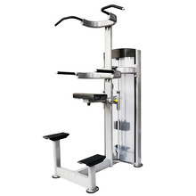 New Gym Fitness Equipment Weight Stack Assisted Chin Dip Machine