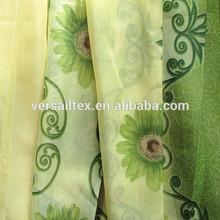 cortina de tela impresa gasa tela de la cortina a nigeria