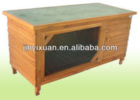 Commercial rabbit house / Simply Rabbit pet house with asphalt roof / Pet cage for rabbits