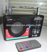2014 newest portable wireless amplifier with USB/SD/TF MP3 player
