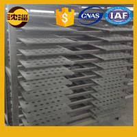 made in China best selling products black perforated silicon carbide plate