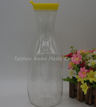 Colorful Eco-friendly 1L Plastic Beverage Carafe