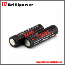 Brillipower sub c battery/18650 li-ion sub c battery/rechargeable flat top bttery