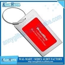 Cheap metal golf bag tag