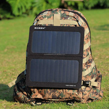 Sunwell Sports Ultra-slim Highest Efficiency Solar Panel Portable Solar Backpack With Speakers