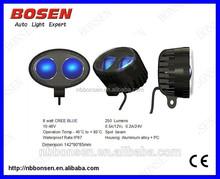 2015 New IP68 Forklift 8W LED Tuning Warning Blue Light 9-60v Forklift light