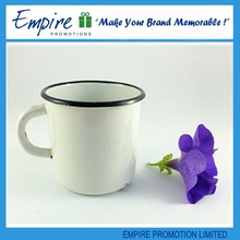 Plain white handle wholesale promotional cheap popular 200cc ceramic mug