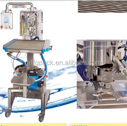 Semi-automatic coconut oil bag in box filling machine