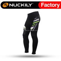 Nuckily Mens cycling durable zip lock down ankle zip biking pants