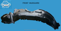 car front right / left mudguard geely Lifan auto parts chery byd great wall front bumper zotye front mudguard