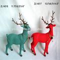 los ciervos de navidad decoración de la mesa