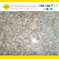G687 pink landscaping stone wall cladding stone molds
