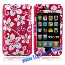 2015 Flowers Two Parts Front and Back Clip-on Hard Case Cover For Apple iPHONE 3G 3GS
