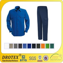 Durable anti-static Anti fire cargo work pants / trousers for oil gas and mining industry
